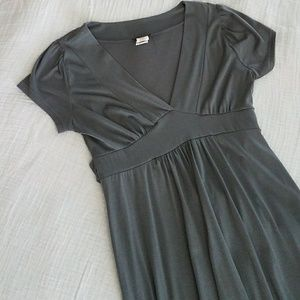 Grey cotton dress